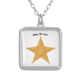 Obey The Law! Pendant