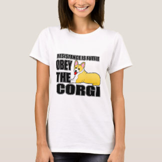 Obey The Pembroke Welsh Corgi T-Shirt