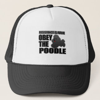 Obey The Poodle Trucker Hat