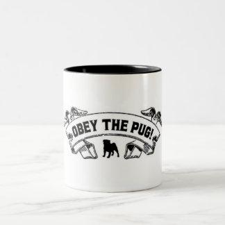 Obey the Pug Mug by nicola