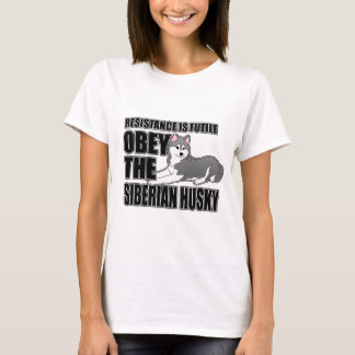 Obey The Siberian Husky T-Shirt