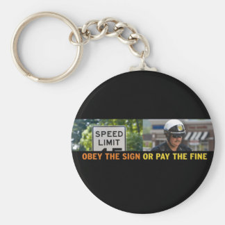 Obey the Sign Keychain