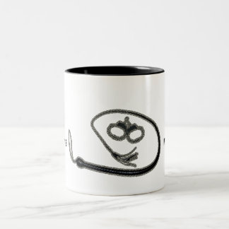 OBEY THY MISTRESS Two-Tone COFFEE MUG