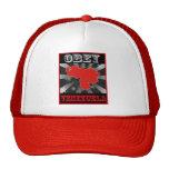 Obey Venezuela Mesh Hats