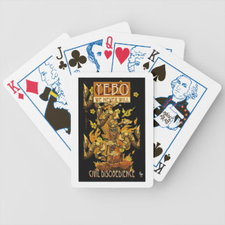 OBEY / YEBO WE NEVER WILL! BICYCLE POKER CARDS