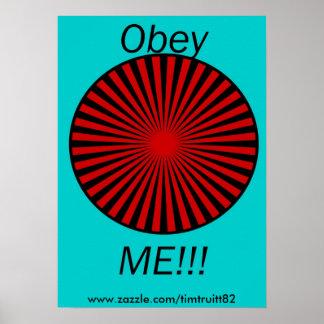 obeyme www zazzle com timtruitt82 posters