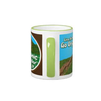 OBFG Logo Green Ring & Handle Mug
