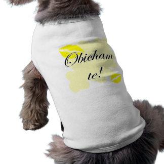 Obicham te! - Bulgarian - I Love You Dog Tshirt