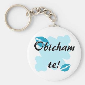 Obicham te - Bulgarian - I Love You Key Chain