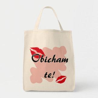 Obicham te! - Bulgarian - I Love You Grocery Tote Bag
