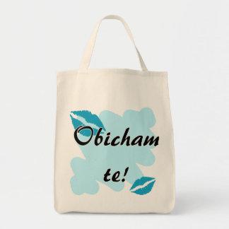 Obicham te! - Bulgarian - I Love You Tote Bags