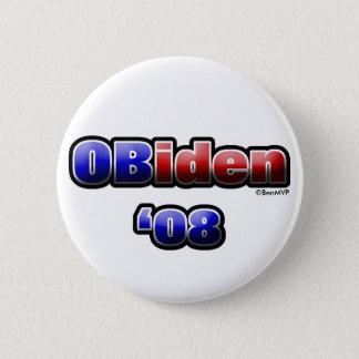 OBiden '08 6 Cm Round Badge