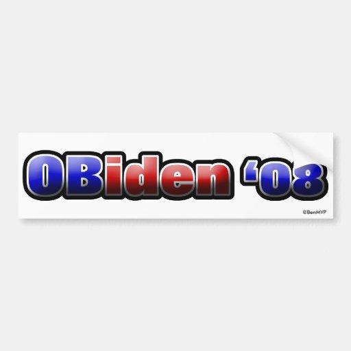 OBiden '08 Bumper Stickers