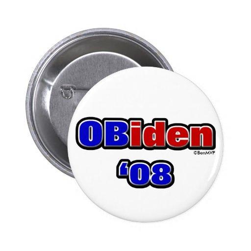OBiden '08 Button