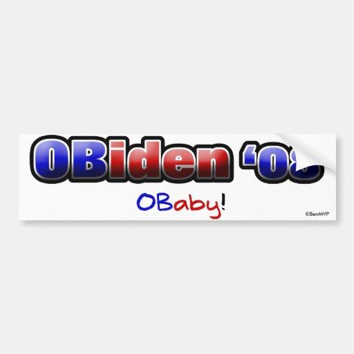 OBiden '08! O Baby! Bumper Sticker