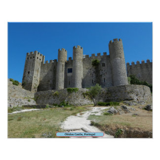 Óbidos Castle, Portugal Posters
