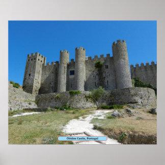 Óbidos Castle, Portugal Print