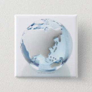 Object 2 15 cm square badge