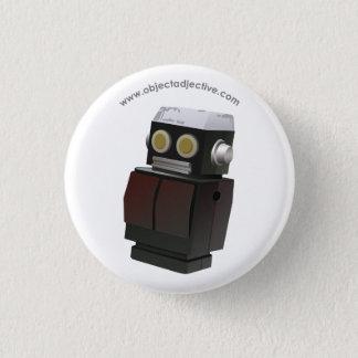 Object Adjective Robot 3 Cm Round Badge