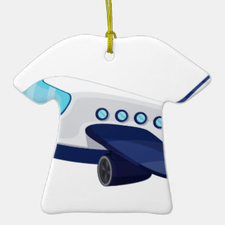 Object illustration Double-Sided T-Shirt ceramic christmas ornament