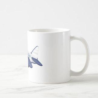 Object illustration basic white mug
