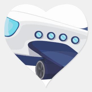 Object illustration heart sticker