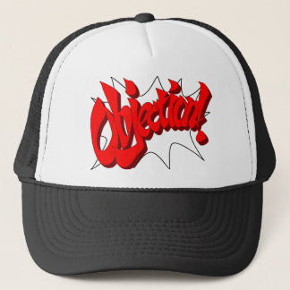 objection-awesomequality trucker hat