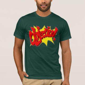 Objection Green T-Shirt