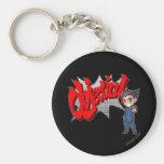 Objection! Phoenix Wright Chibi Key Chains