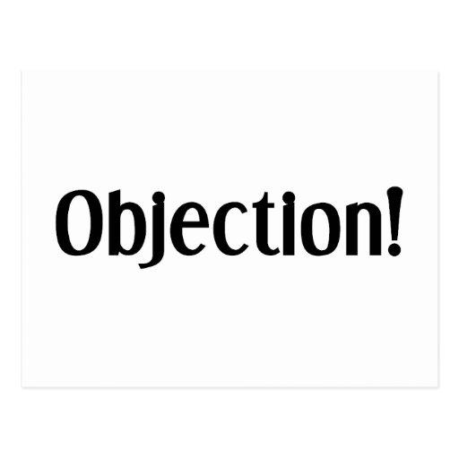 Objection Postcards