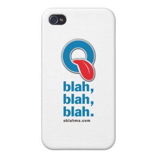 Oblah blah blah iPhone 4 case