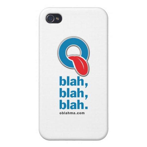 Oblah, blah, blah iPhone 4 case