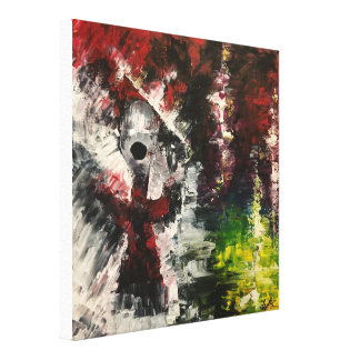 """Oblivion"" Original Abstract Painting Canvas Print"
