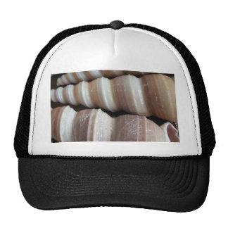 Oblong  Summer Seashells, Summer Season Cap