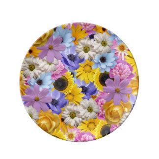 Obnoxious Bouquet Plate