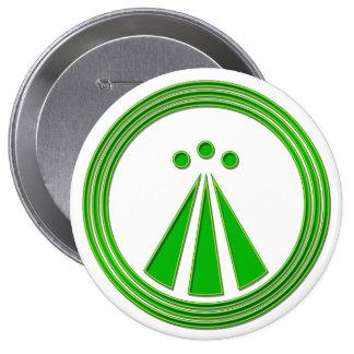 OBOD Symbol Neon Green Pins