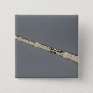 Oboe 15 Cm Square Badge