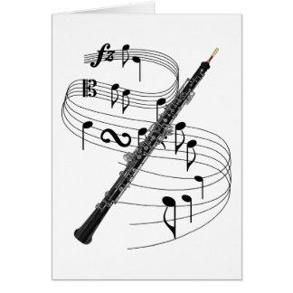 Oboe Card