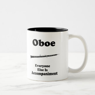 Oboe Gift Two-Tone Coffee Mug