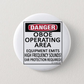 Oboe Operating Area 6 Cm Round Badge