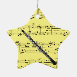 Oboe - Pick your color Christmas Ornament