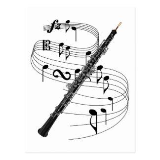 Oboe Postcard