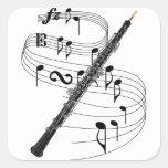 Oboe Sticker