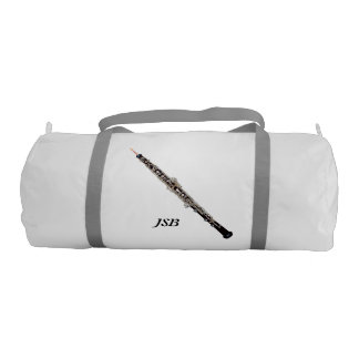 Oboe with Custom Monogram Gym Bag