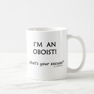 Oboist Excuse Basic White Mug
