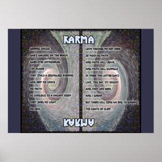 Oboros Tapestry Karma Poster