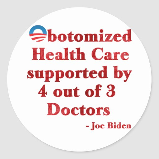 Obotomized Healthcare Stickers