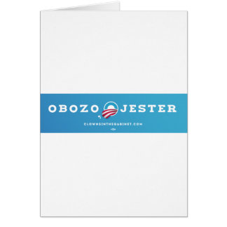 Obozo for America 2012 Cards