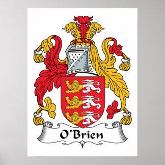 O'Brien Family Crest Print
