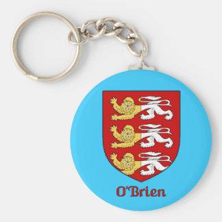 O'Brien Family Shield Keychain